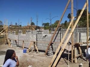 New Sunday school classrooms in Chimis Mataras.